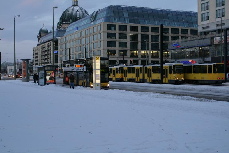 Общественный транспорт Берлина.